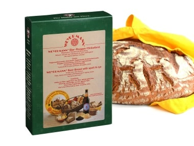 Photo of the spelt and rye bread mix from Weyermann ®