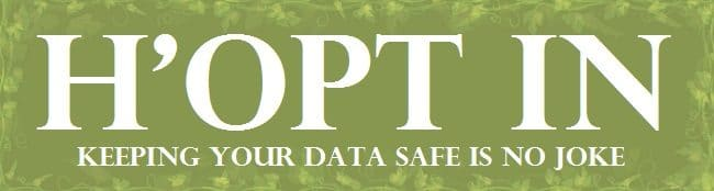 Graphic saying h'opt in. It's just a title banner for the opt in page.
